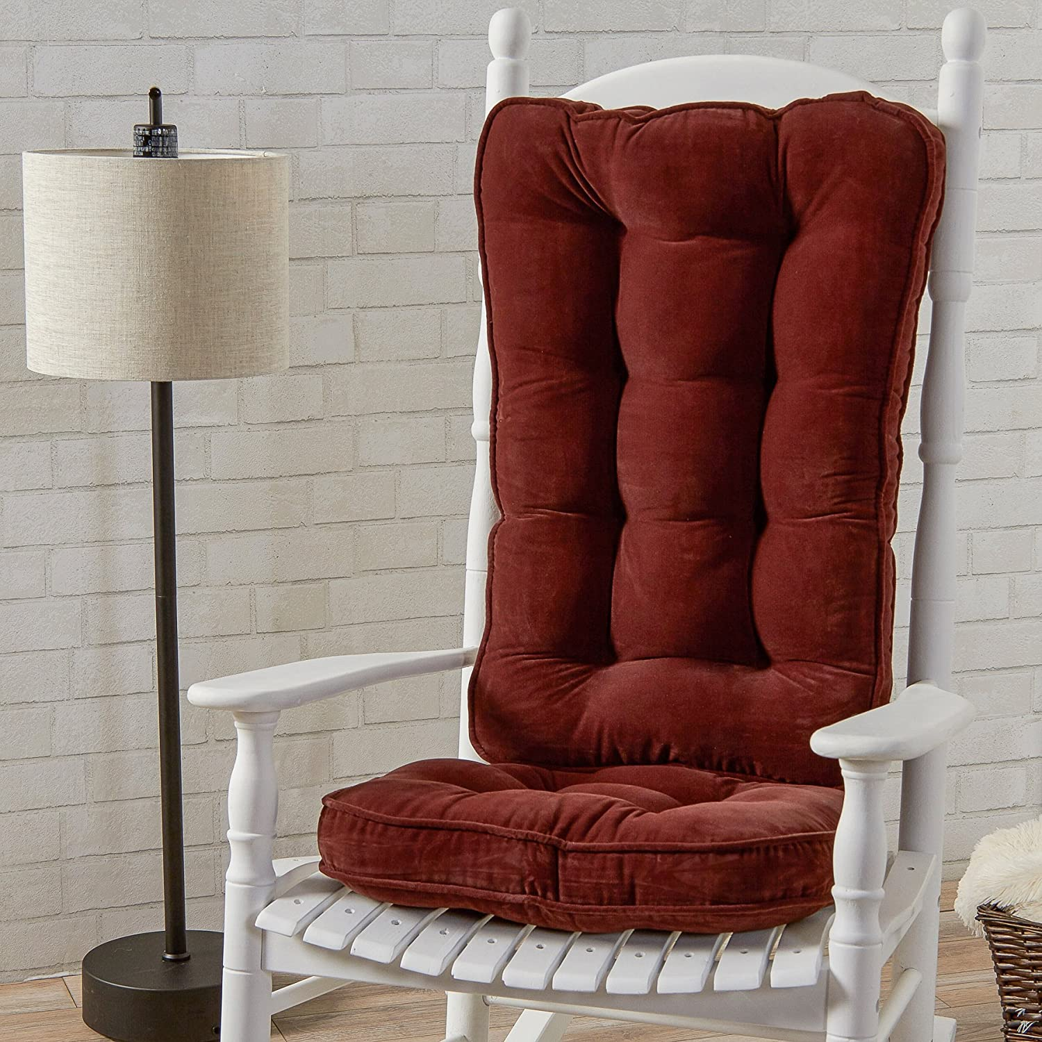 Amazon Greendale Home Fashions Jumbo Rocking Chair Cushion