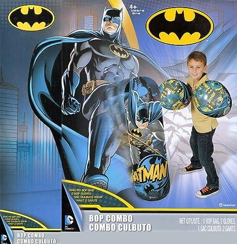 Amazon.com: Batman Bop Combo: Bop guantes y Bop Bolsa: Toys ...