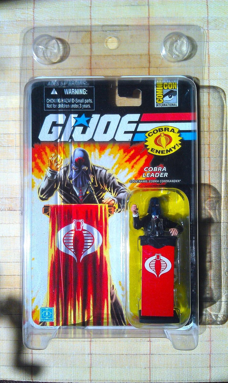 Amazon.com: G.I. Joe SDCC Exclusivo Cobra Commander (traje ...