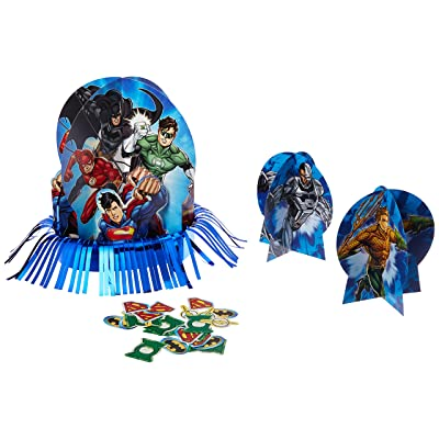 Justice League Table Decorating Kit, Party Favor: Toys & Games