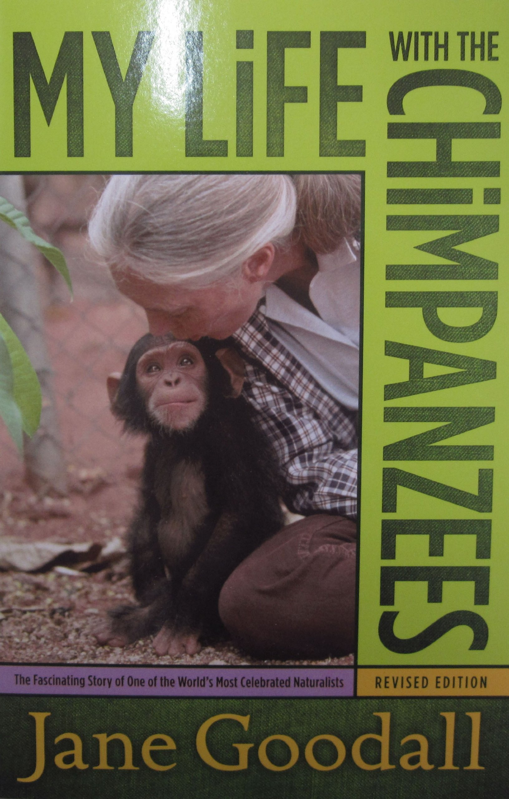 My life with the chimpanzees jane goodall 9780671562717 amazon com books