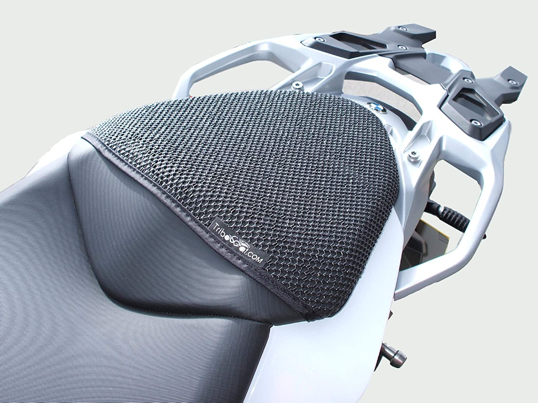 BMW S1000XR (2015-2018) TRIBOSEAT COPRISELLA PASSEGGERO ANTISCIVOLO NERO ADVANCED SEATING TECHNOLOGY LIMITED