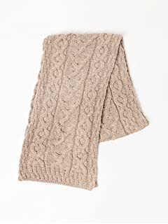 Wool Cable Scarf 11-45-0584-263: Beige