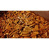 Certified Organic Fresh Shelled Texas Papershell Pecan Halves, 12 Oz. Family Orchard grown