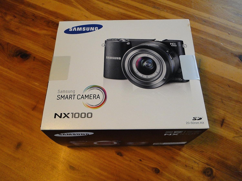 Samsung NX NX1000 MILC 20.3MP CMOS 5472 x 3648Pixeles Blanco: Amazon.es: Electrónica