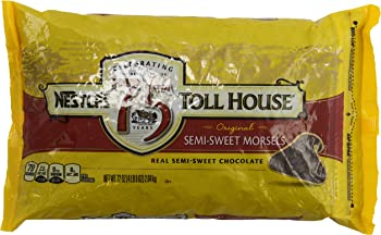 Nestle TOLL HOUSE Semi-Sweet Chocolate Morsels 72 oz. Bag