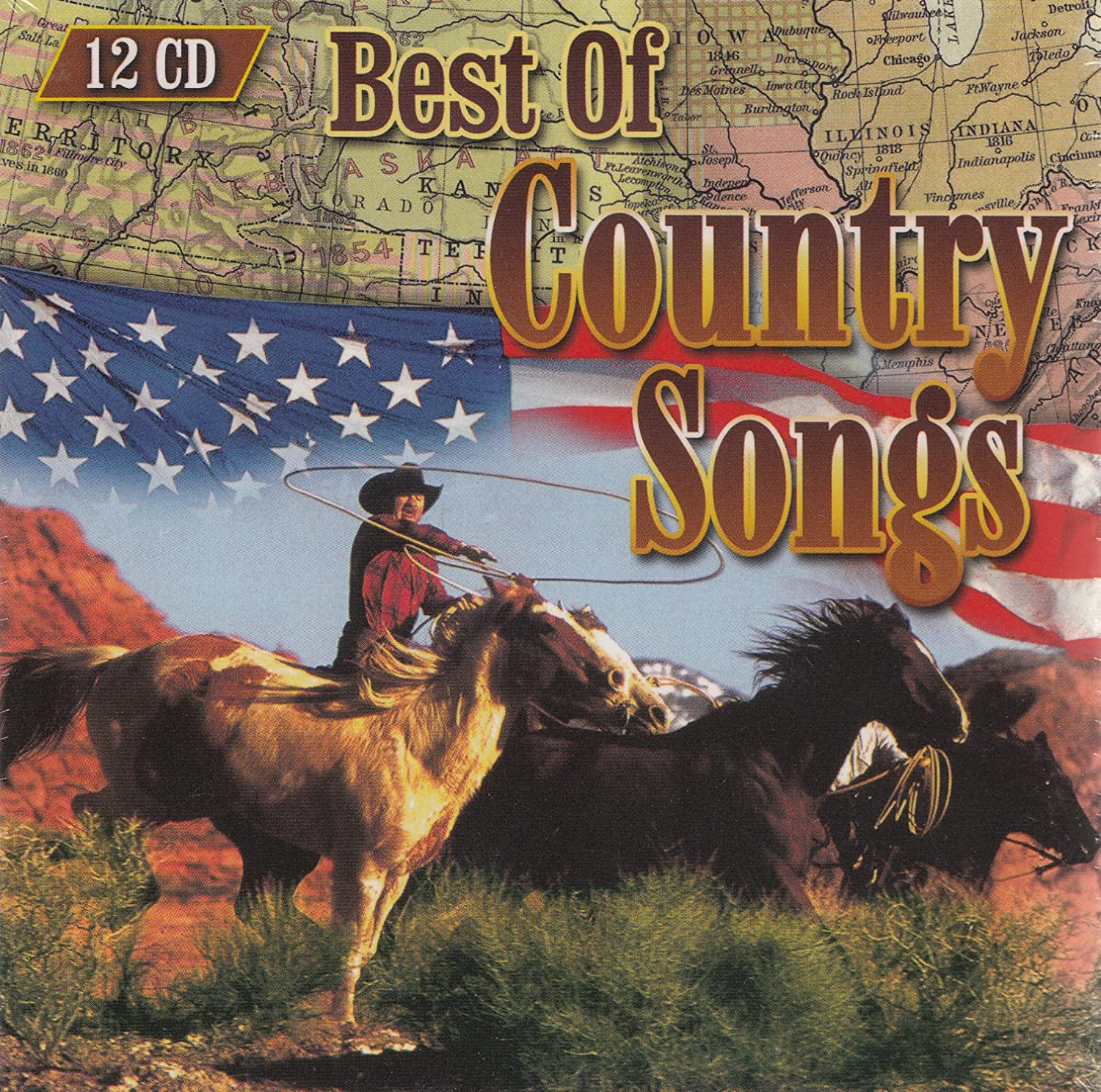 Best Of Country Songs - 12 CD Box - Various: Amazon.de: Musik
