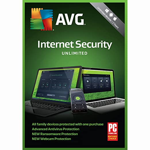 AVG Internet Security Unlimited 2 Years