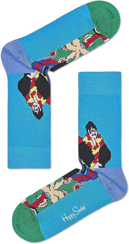 Happy Socks Caja Regalo THE BEATLES COLECCIONISTAS Caja 3-pack - Azul / Azul Marino/Rojo, UK 7-11 EUR 41-46: Amazon.es: Ropa y accesorios
