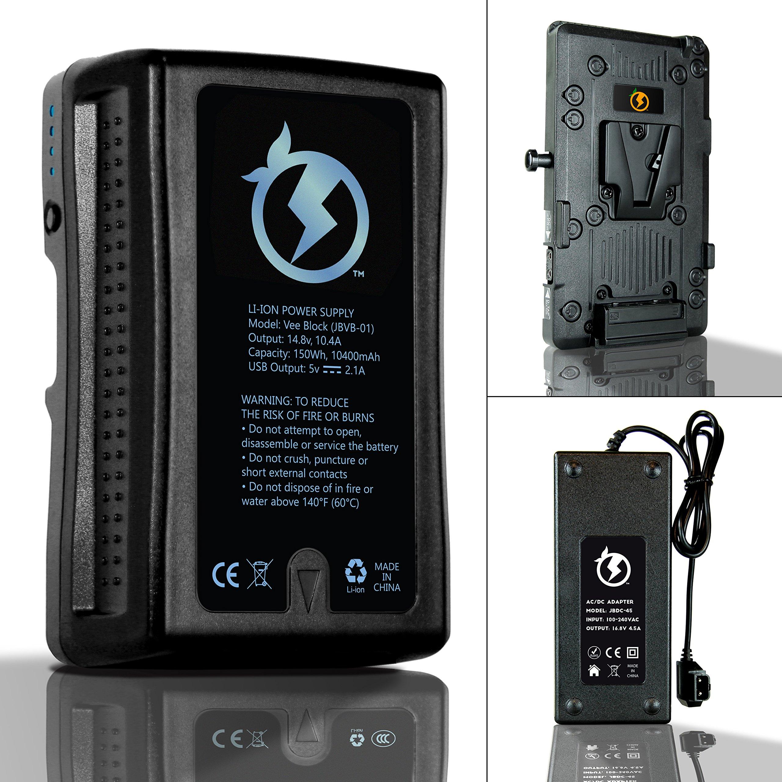 Juicebox Complete Battery Kit for Blackmagic Ursa and Ursa Mini by Juice Box