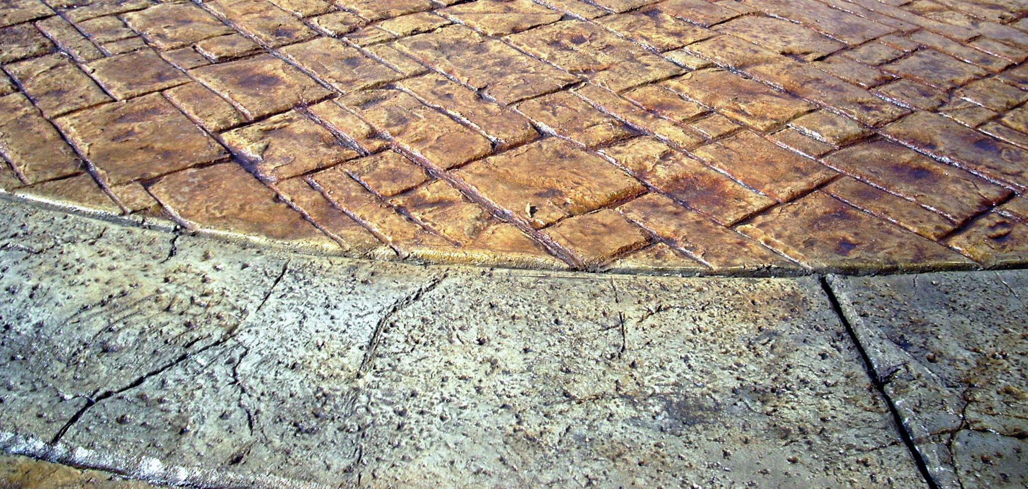 Fractured Granite Concrete Stamp Seamless Texture Skin Stamp Set (6 piece)