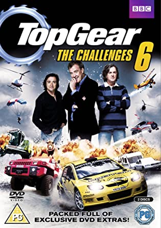 Top Gear - The Challenges 6 with Augmented Reality Reino Unido DVD: Amazon.es: Jeremy Clarkson, Richard Hammond, James May, The Stig, Jeremy Clarkson, Richard Hammond, Andy Wilman: Cine y Series TV