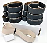 1x30 Sanding Belt 12 Pack with Leather Stropping