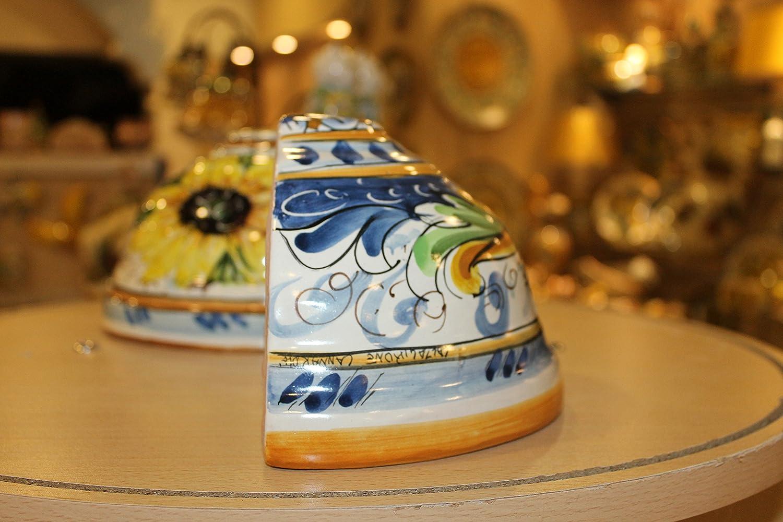 Applique in ceramica caltagirone artistica: amazon.it: casa e cucina