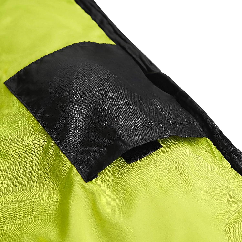 SportVida Schlafsack f/ür Camping Sommer Mumienschlafsack Ultraleicht Outdoor Komforttemperatur 4/°C bis 18/°C