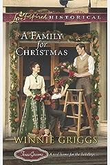 A Family for Christmas (Texas Grooms Book 3) Kindle Edition