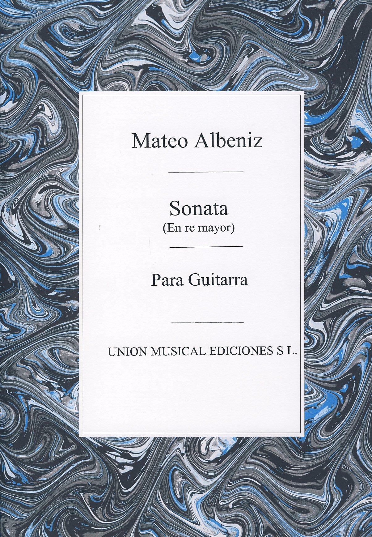 ALBENIZ Mateo - Sonata en Re Mayor para Guitarra Tarrago: Amazon ...