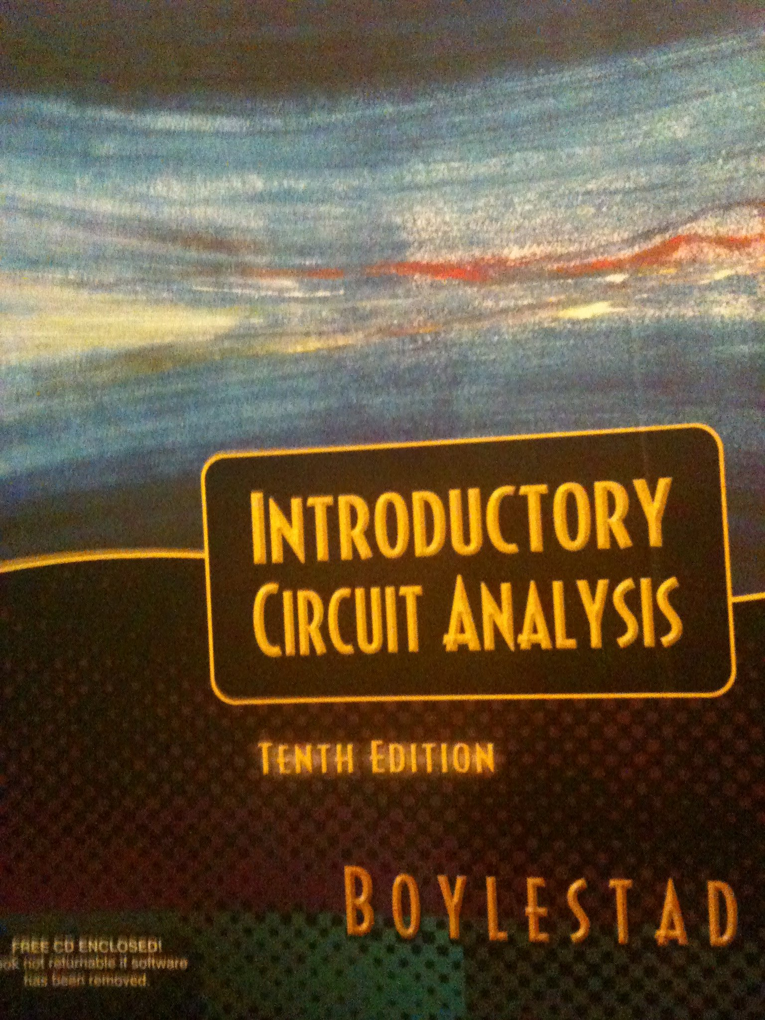 Introductory Circuit Analysis 10th Edition Pdf