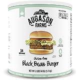 Augason Farms Gluten-Free Black Bean Burger 2 lbs 14 oz No. 10 Can