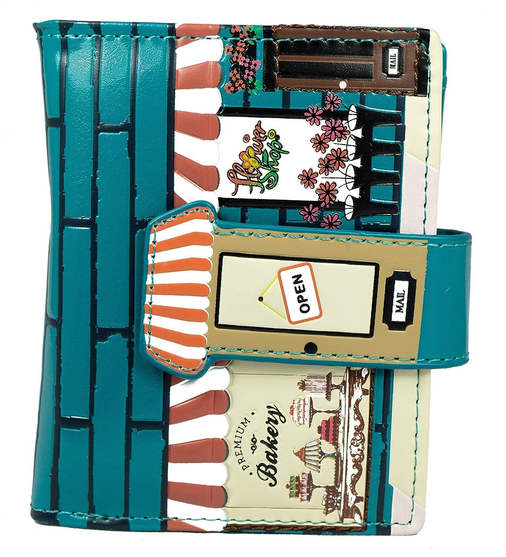 Shagwear Junge-Damen Geldbörse, Small Purse: Verschiedene Farben und Designs: (Aloha/Aloha)