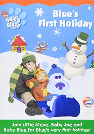 Amazon Com Blue S Clues Blue S First Holiday Steve Burns Traci