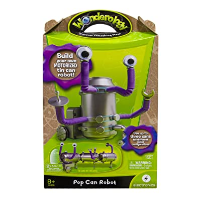 Wonderology – Science Kit – Pop Can Robot: Toys & Games