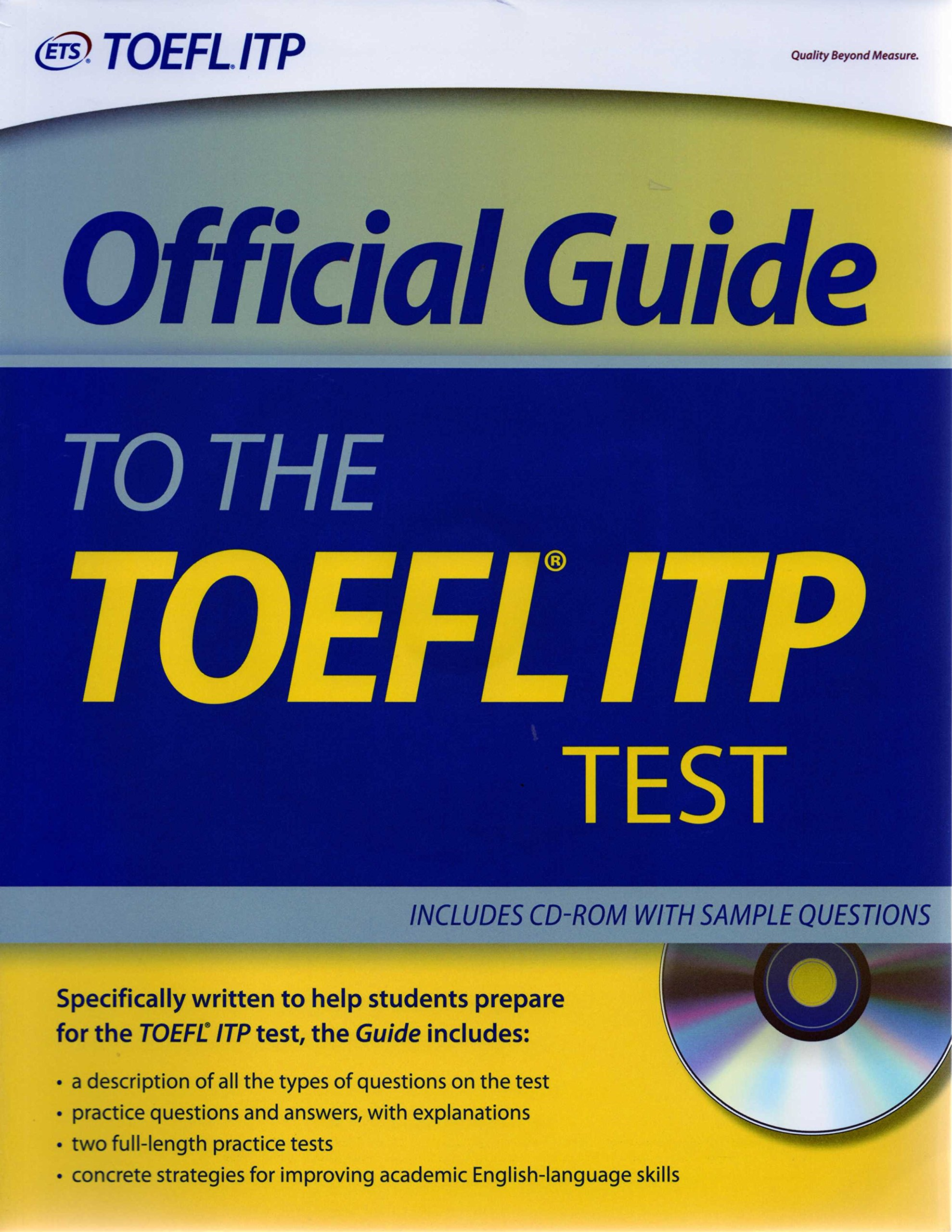Official guide to the toefl itp test youtube.