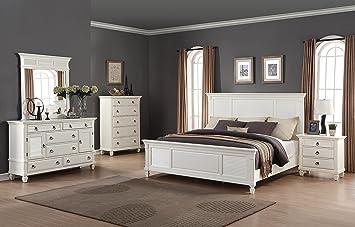 Amazoncom Roundhill Furniture Regitina 016 Bedroom Furniture Set