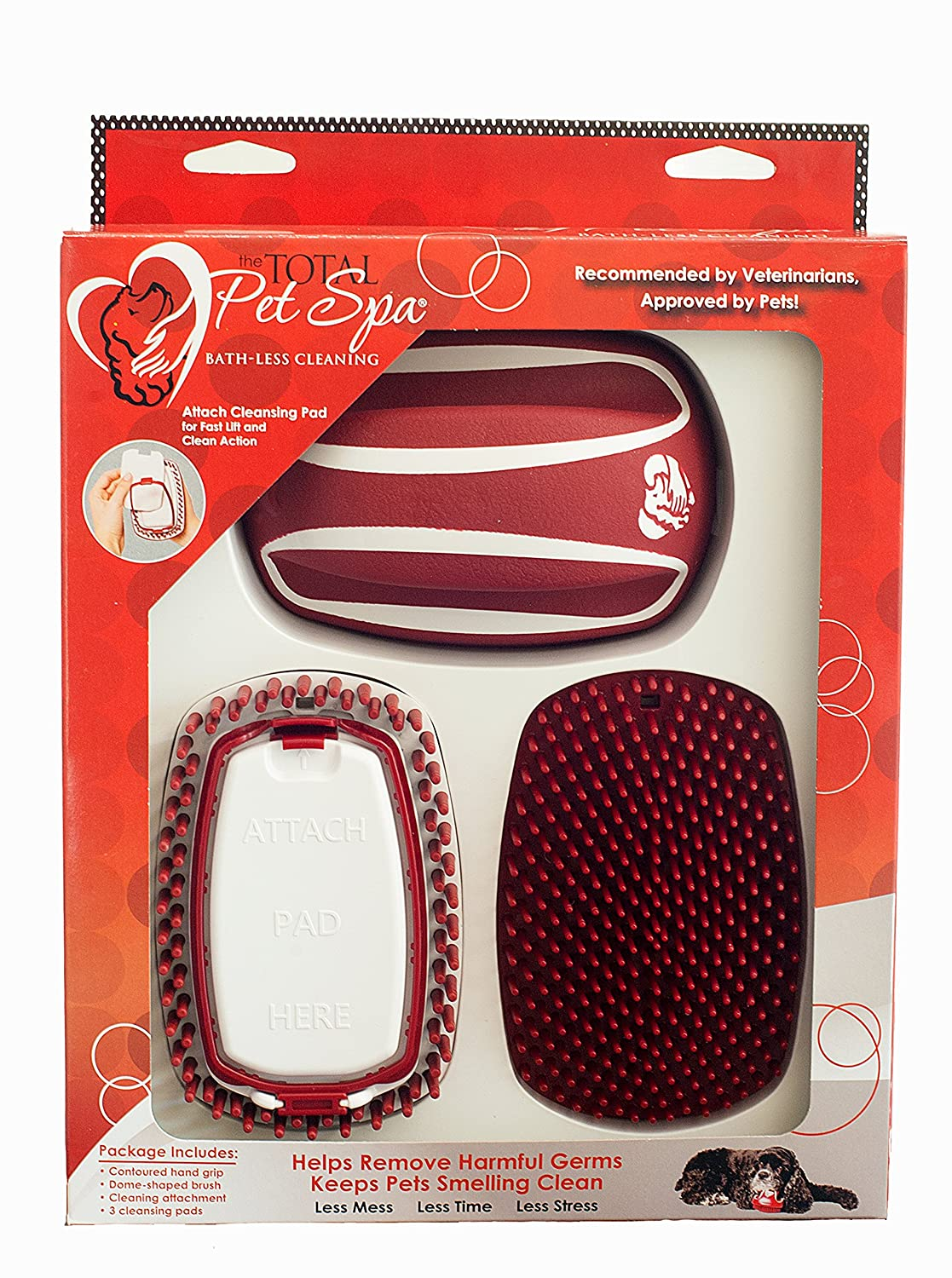 Total Pet Spa Bath-Less Cleaning Kit Give your dog or cat a bath WITHOUT using water