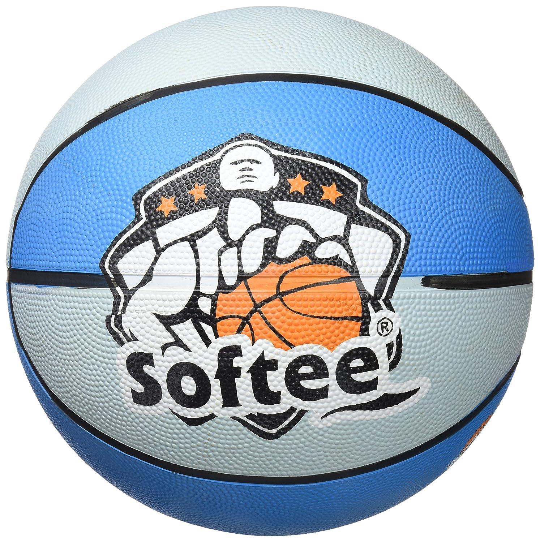 Softee Equipment Balón Baloncesto Crossover Azul Talla 7: Amazon ...
