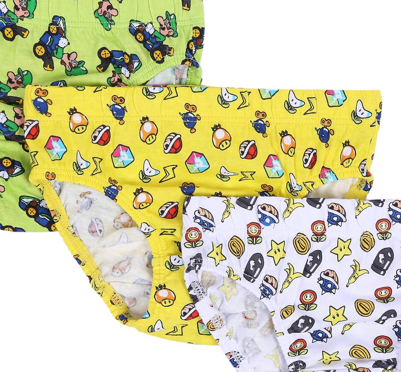 5X Mutande da Ragazzino Super Mario