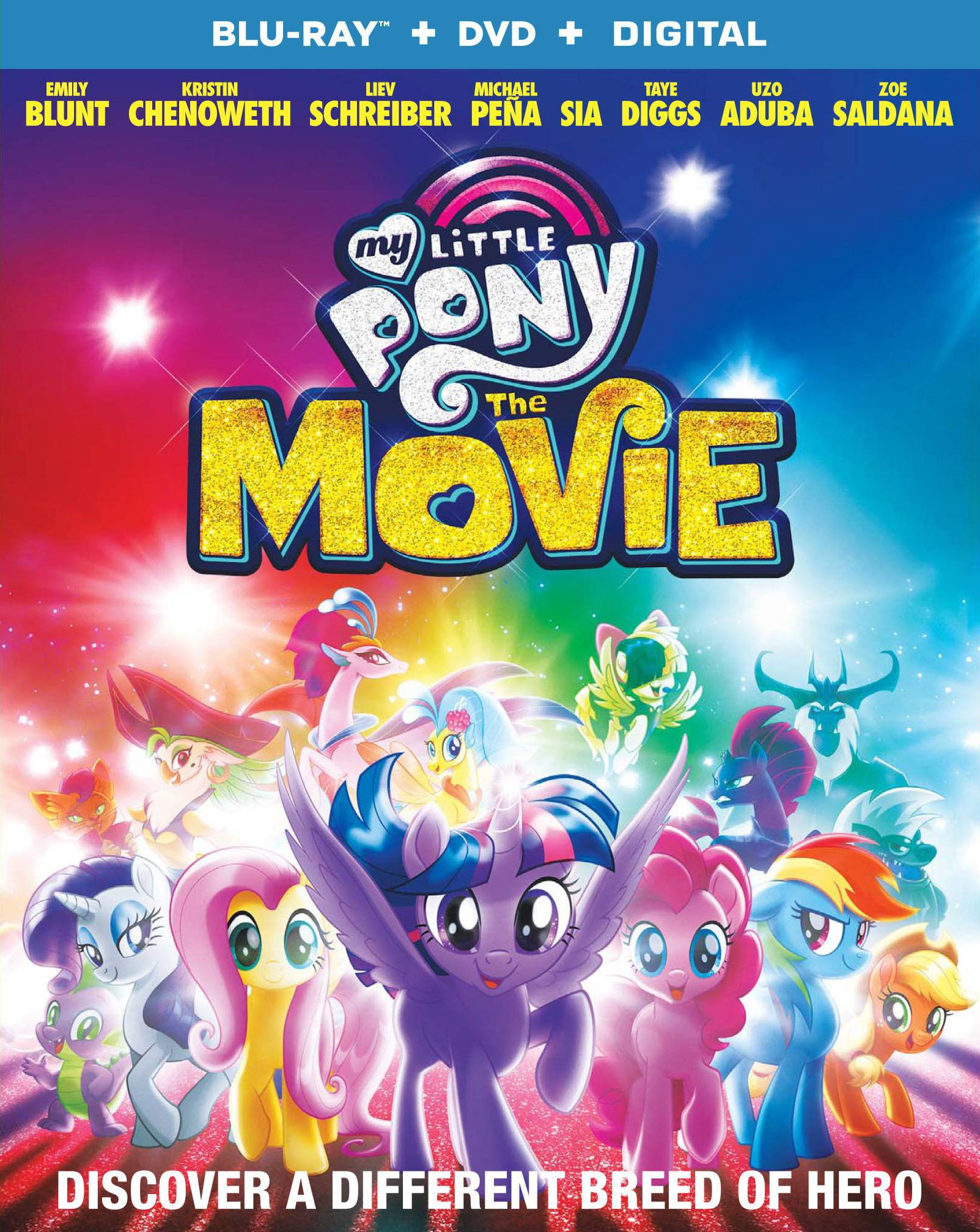 Blu-ray : My Little Pony: The Movie (With DVD, 2 Pack, Digital Theater System, Widescreen, )