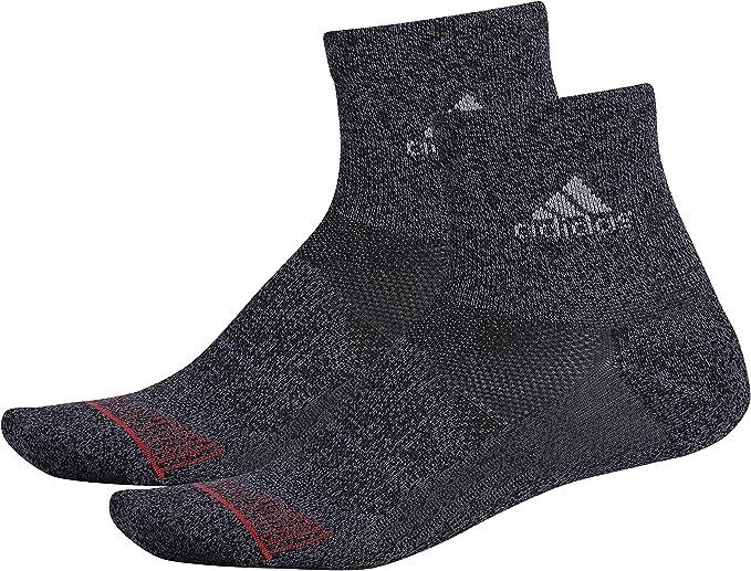 Quiksilver Mens 6 Pack Color-Blocked Stripe Quarter Sock