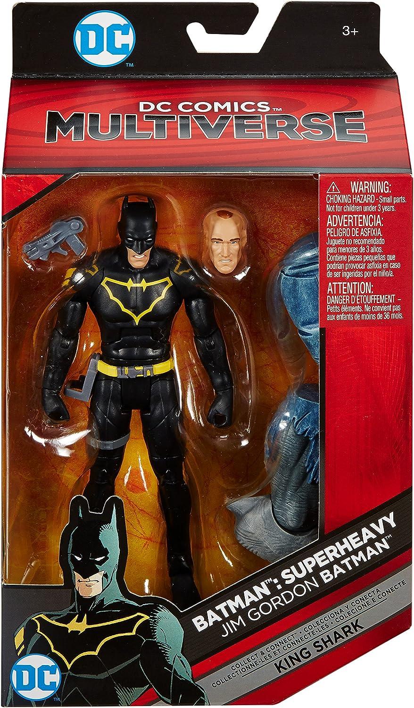 "KING SHARK Action Figure DC Multiverse 6/"" Jim Gordon Batman"