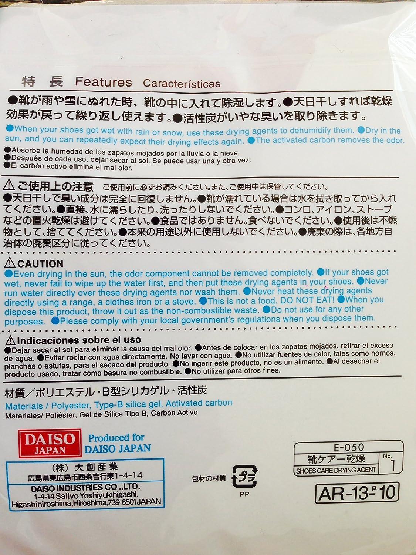 Amazon.com: Deodorizing y agente de secado para zapatos ...