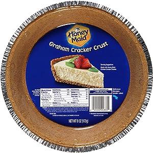 Honey Maid Graham Cracker Pie Crust, 6 Ounce, (Pack of 12)