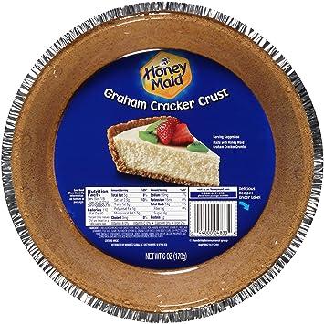 Amazon.com : Honey Maid Graham Cracker Pie Crust (6-Ounce) : Grocery & Gourmet Food