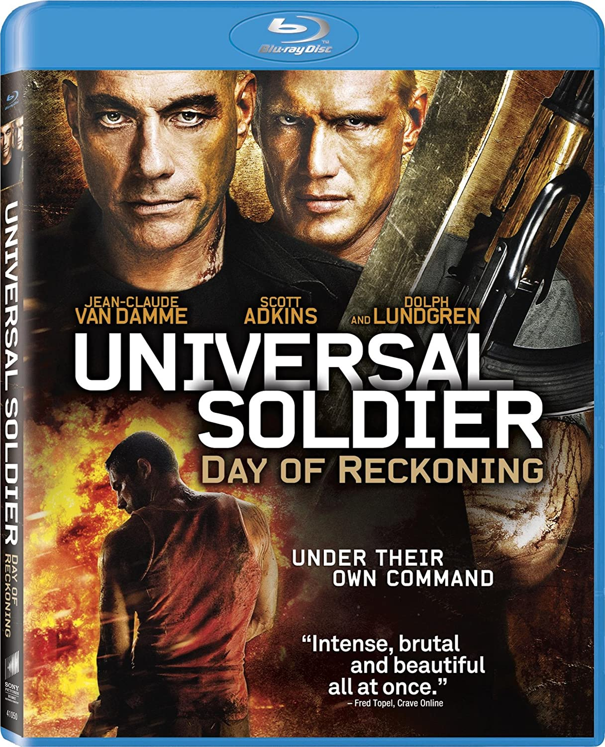 Image result for universal soldier day of reckoning 2012 poster