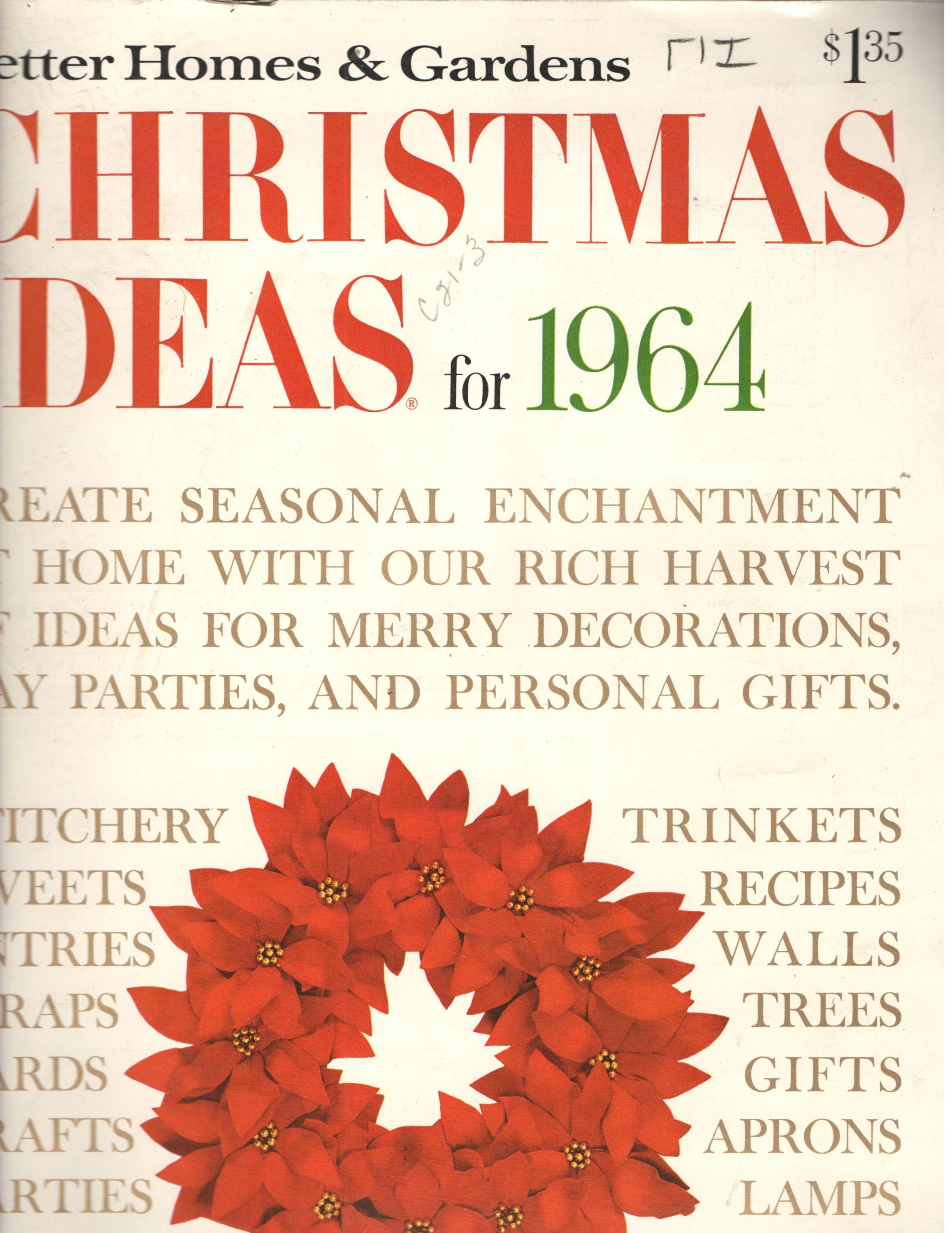 Better Homes & Gardens Christmas Ideas for 1964 (Better Homes ...