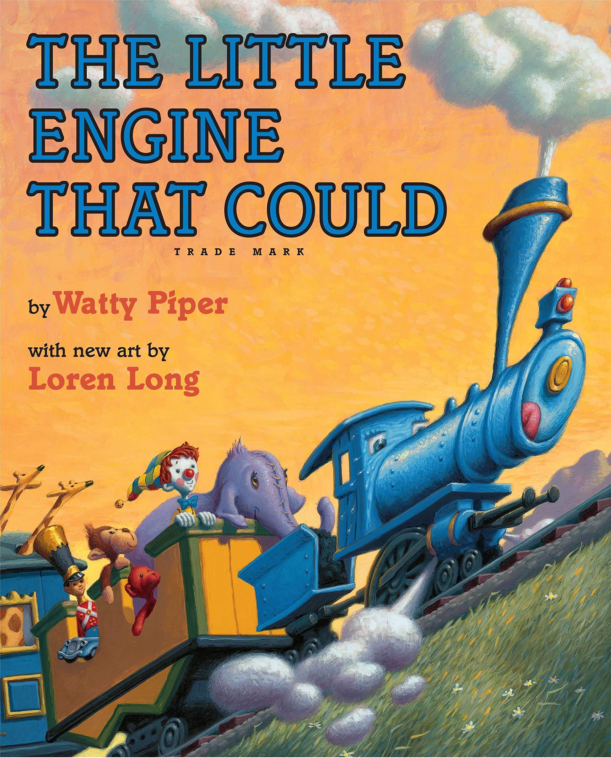 The Little Engine That Could: Loren Long Edition: Piper, Watty, Long, Loren: 9780399244674: Amazon.com: Books