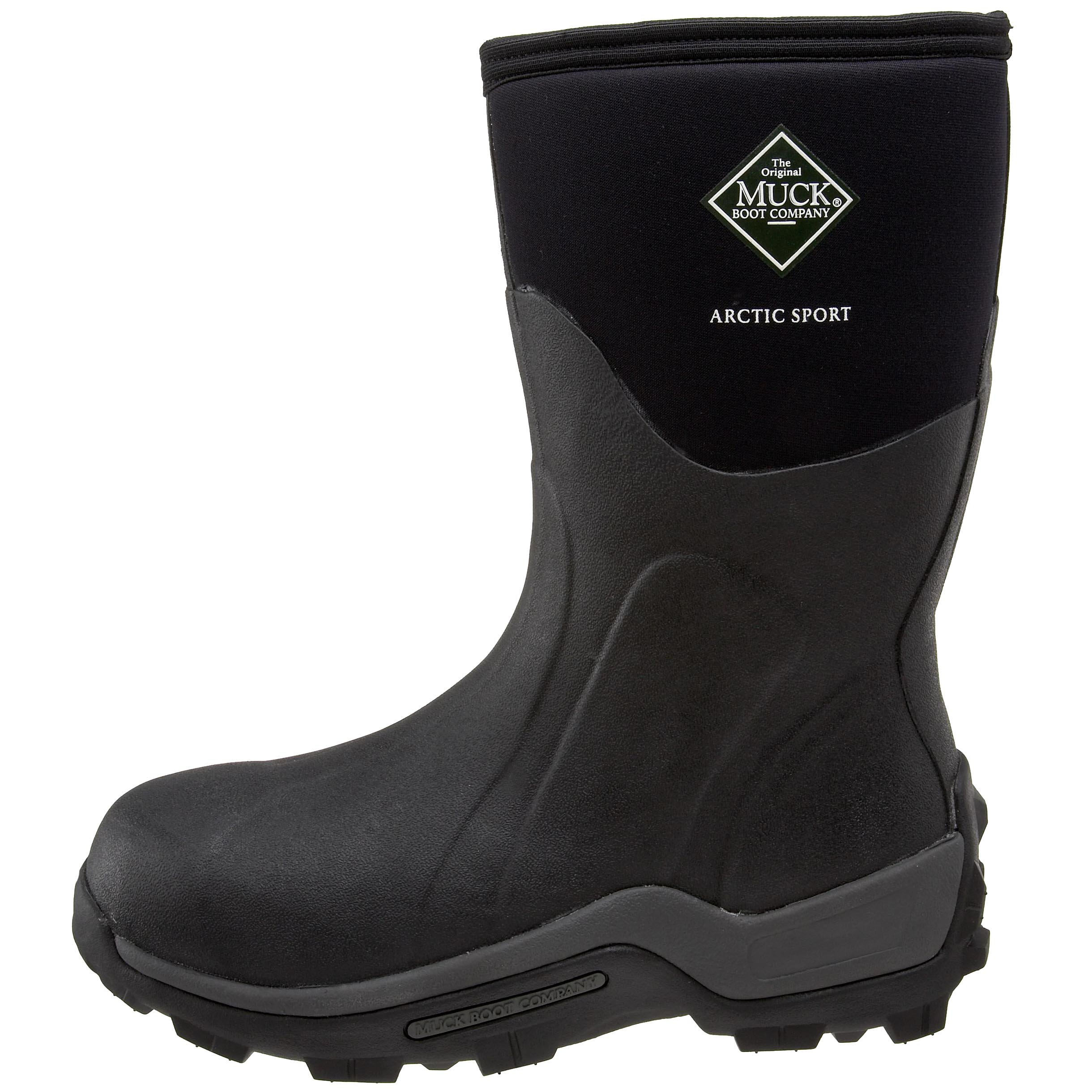The Original MuckBoots Arctic Sport Mid Outdoor Boot,Black,12 M US Mens/13 M US Womens by Muck Boot (Image #5)