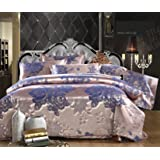 Pcs Queen Gold Imperial Comforter Set Bed In A Bag