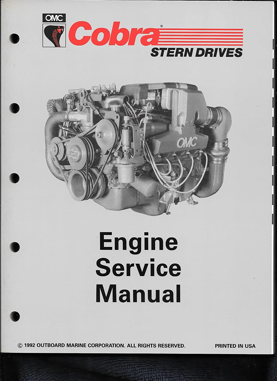 "Amazon.com: 1993 ""JV"" OMC Cobra Engine Service Manual 508290: Sports &  Outdoors"