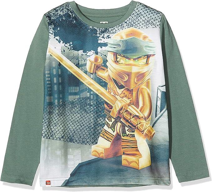 LEGO Ninjago T-Shirt /à Manches Longues Gar/çon