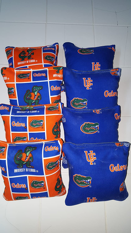 University of Florida Gators Tournament regulationコーンバッグのセット8 B0763DZJVZ