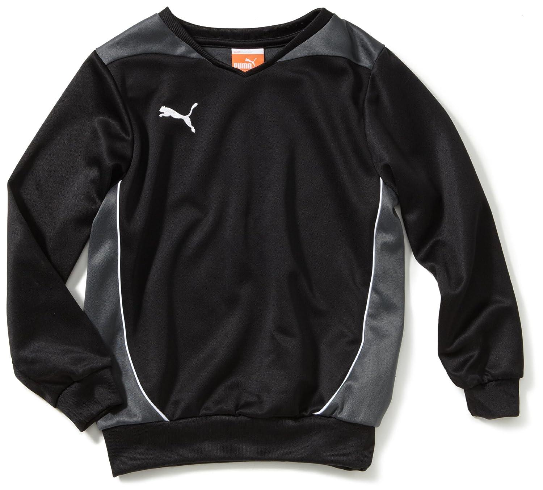 PUMA Kinder Sweatshirt Foundation Training Black/Dark Shadow 128 653102 03 653102 03_Black/Dark Shadow_128