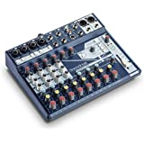 Soundcraft Notepad-12FX Small-format Analog Twelve-Channel Mixing Console with USB I/O and Lexicon Effects (5085985US)