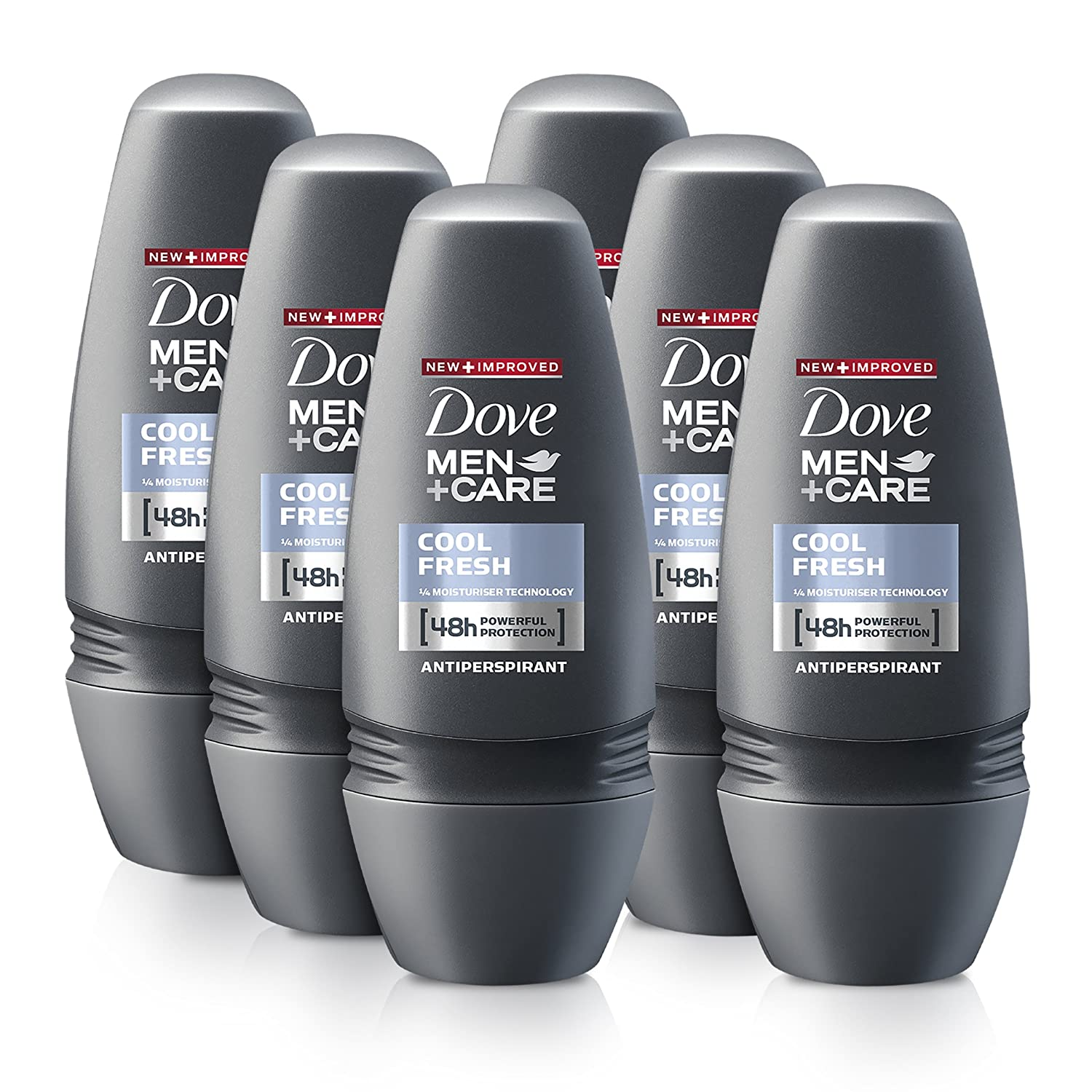 c9cab18e5 Dove Men Cool Fresh Anti-Perspirant Deodorant Roll-On 50 ml - Pack of 6. by  Dove Men + Care