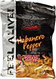 Blair's Death Rain Habanero Kettle Cooked Potato Chips - 1.5 oz bag