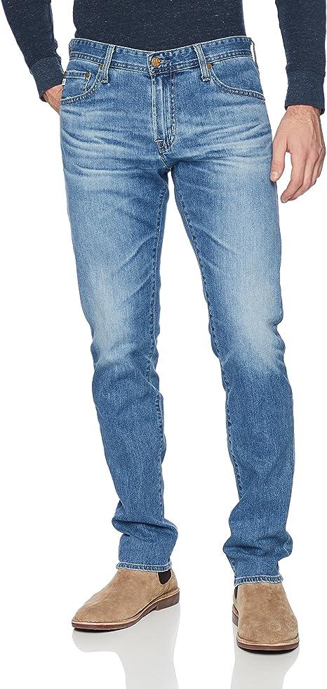 AG Adriano Goldschmied Mens Tellis Modern Slim Fit 360 Denim
